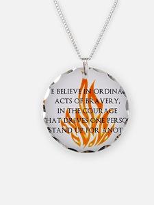 Dauntless Belief  Necklace