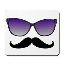 Sunglasses Mustache Mousepad