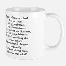 Robin Olds Portrait & Quote Mug
