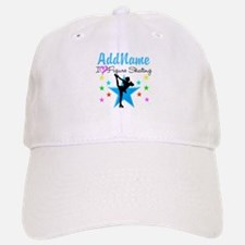 ICE SKATING STAR Baseball Baseball Cap