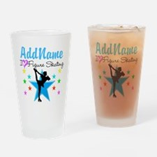 ICE SKATING STAR Drinking Glass
