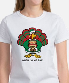 Turkey Santa's Helper Tee