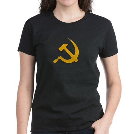 USSR (Russia) Hammer & Sickle T-Shirt W. (Black)