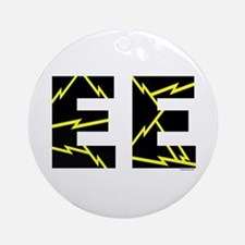 Charged EE Ornament (Round)