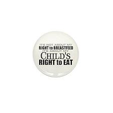 Cute Breast feeding Mini Button (100 pack)