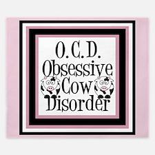 Obsessive Cow Disorder King Duvet