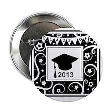 "Class of 2013 Graduate 2.25"" Button"