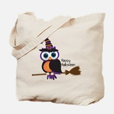 Cute Halloween owl Tote Bag