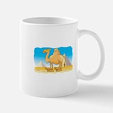 Camel and Pyramids Mug