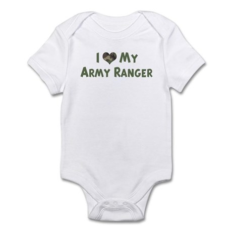 Army Ranger: Love - camo Infant Bodysuit