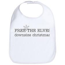 free the elves Bib