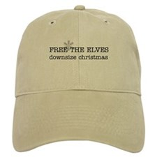 free the elves Baseball Cap