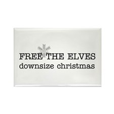 free the elves Rectangle Magnet