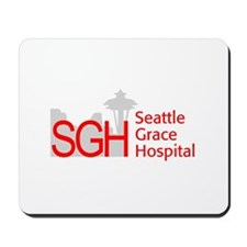 Red SGH Logo Mousepad