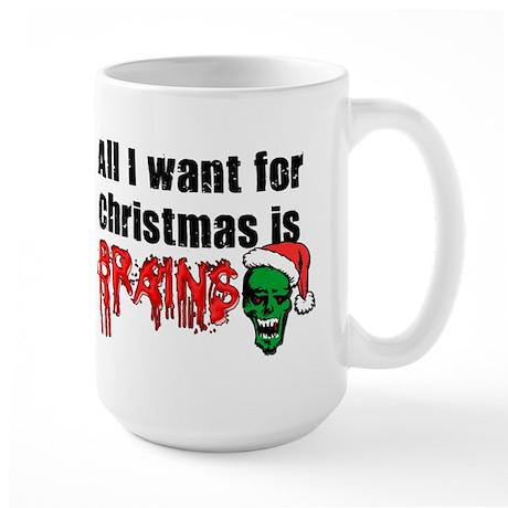Zombie Christmas Large Mug
