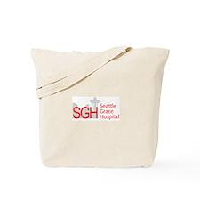 Red SGH Logo Tote Bag