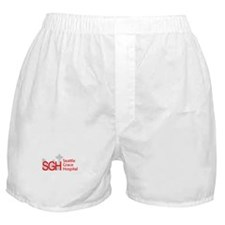 Red SGH Logo Boxer Shorts