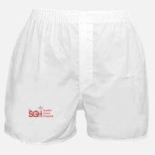 Red SGH Logo Boxer Shorts