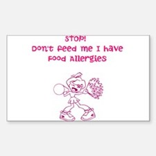 Cheer! Dont feed ME! Decal