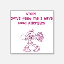 Cheer! Dont feed ME! Sticker