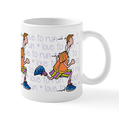 Love to run (man) Mug