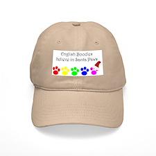 English Boodles believe Baseball Cap