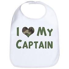 Captain: Love - camo Bib