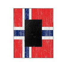 Vintage Norway Flag Picture Frame