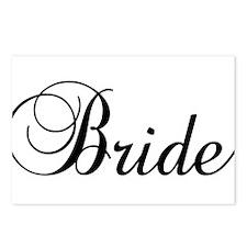 Bride Dark Postcards (Package of 8)