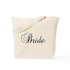 Bride Dark Tote Bag