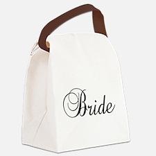 Bride Dark Canvas Lunch Bag