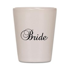 Bride Dark Shot Glass