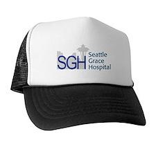Blue SGH Logo Trucker Hat