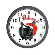 Chin TOV I Believe Wall Clock