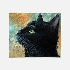 Cat 545 Throw Blanket