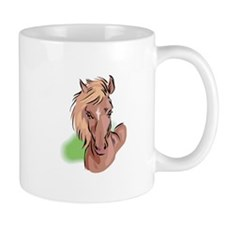 Brown Horse Head Mug