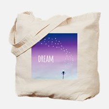 Dream and make a wish on a dandelion Tote Bag