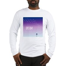 Dream and make a wish on a dan Long Sleeve T-Shirt