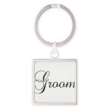 Groom Dark Keychains