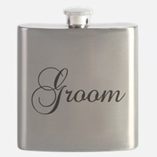 Groom Dark Flask
