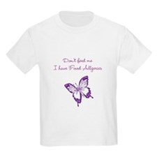 Butterfly Dont Feed Me T-Shirt