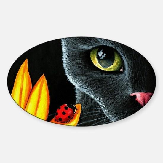 Cat 510 Sticker (Oval)