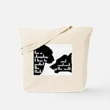 Im a Sheepdog Tote Bag