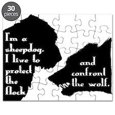 Im a Sheepdog Puzzle