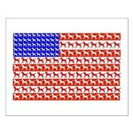 Foal Flag Small Poster