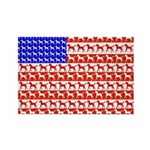 Foal Flag Rectangle Magnet