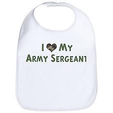 Army Sergeant: Love - camo Bib