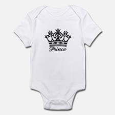 Prince Black Crown Onesie