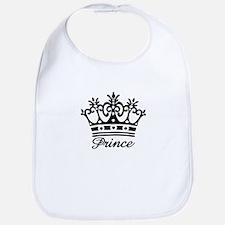 Prince Black Crown Bib
