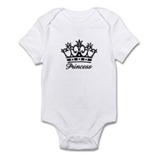 Princess Black Crown Onesie